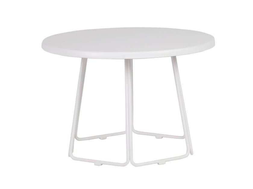 Round steel garden side table DIA | Garden side table by MOBIKA GARDEN