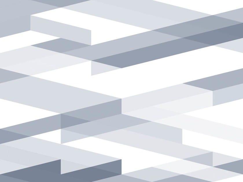 Geometric non-woven paper wallpaper DIAGONAL #04 by EXTRATAPETE