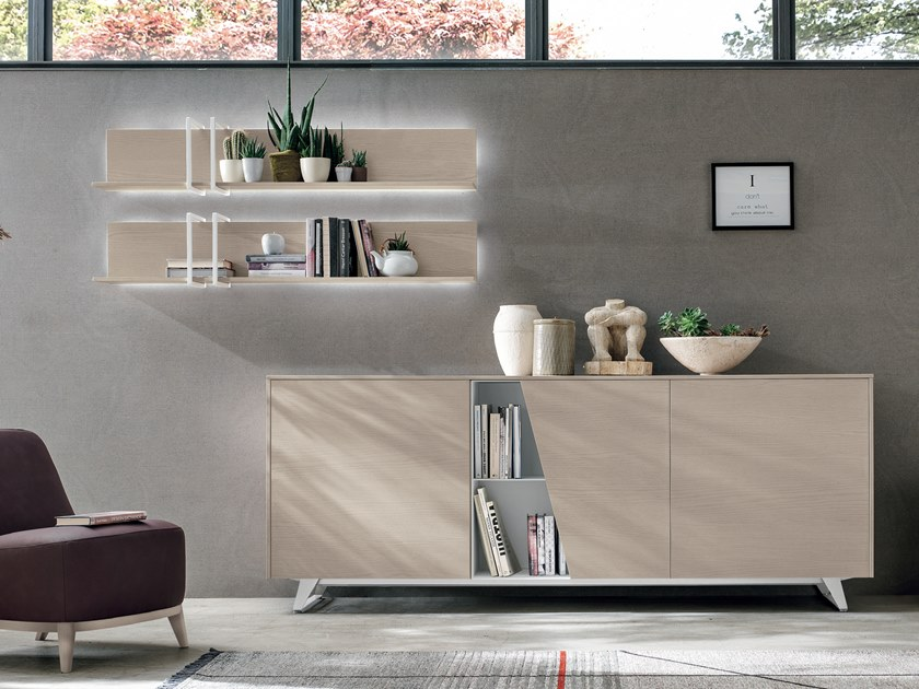 Sideboard with doors DIAGONAL   Sideboard by Gruppo Tomasella
