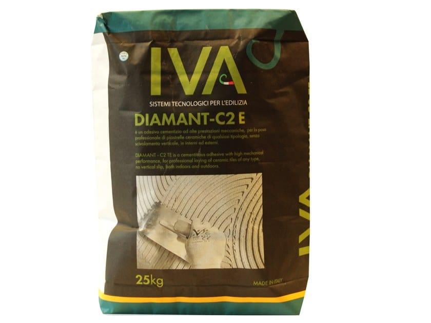 Cement adhesive for flooring DIAMANT - C2 E by IDA