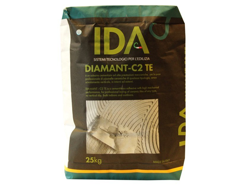 Cement adhesive for flooring DIAMANT - C2 TE by IDA