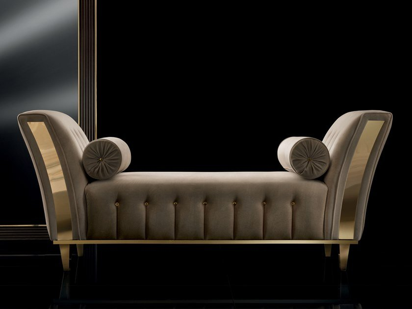 Tufted upholstered bench DIAMANTE | Upholstered bench by ADORA