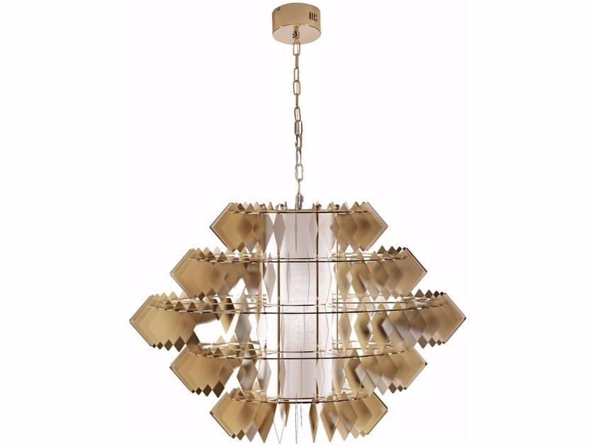 Steel pendant lamp DIAMANTE NEW | Pendant lamp by Cantori