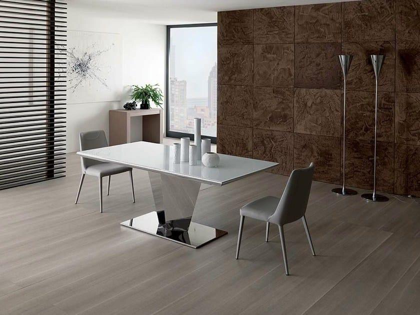 Extending dining table DIAMANTE by Ozzio Italia