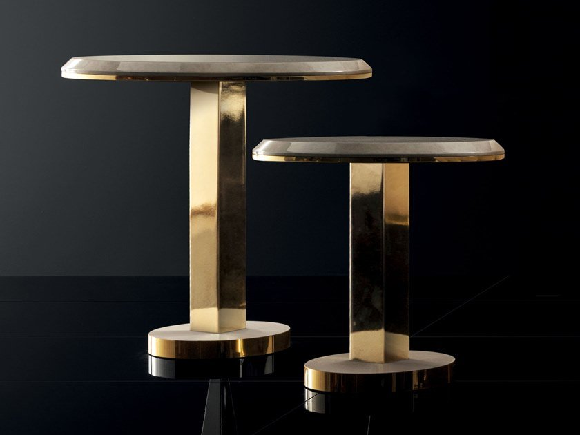 Round coffee table for living room DIAMANTE | Round coffee table by ADORA