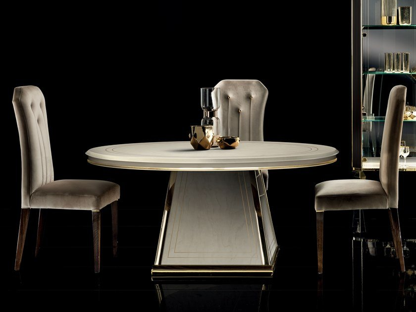 Round living room table DIAMANTE | Round table by ADORA