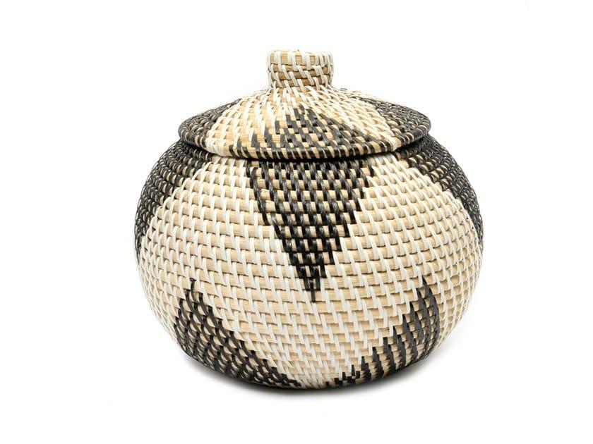 Rattan basket DIAMOND by Bazar Bizar