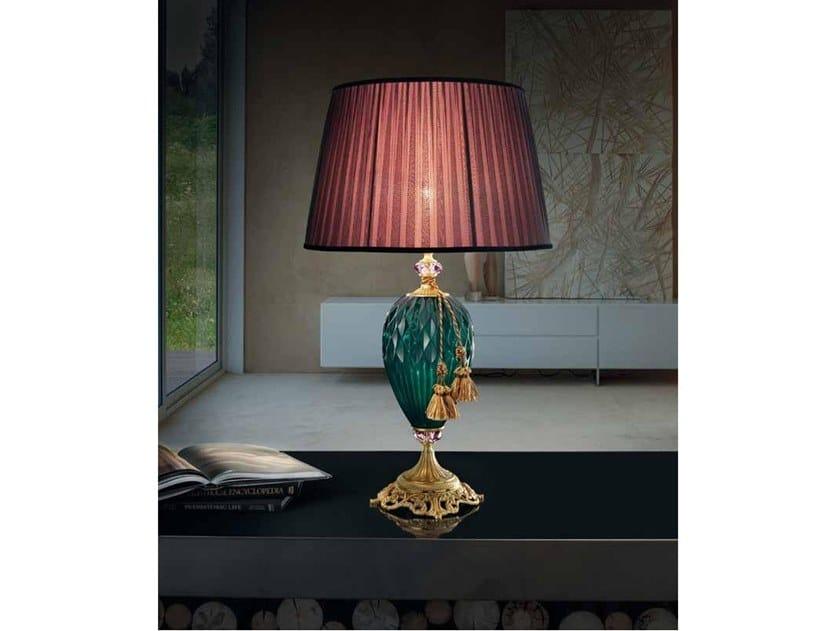 Lampada da tavolo in cristallo DIAMOND LG1 by Euroluce Lampadari