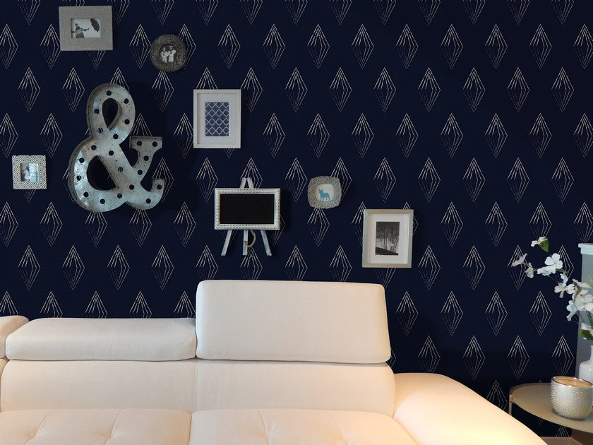 Motif geometric wallpaper DIAMOND by Mat&Mat