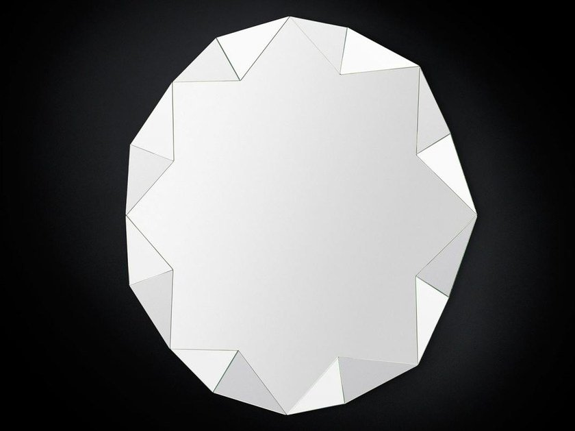 Wall-mounted hall mirror DIAMOND by VGnewtrend