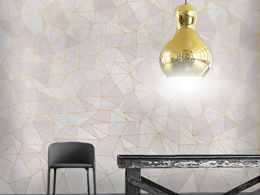 Wall tiles / wallpaper DIAMONDS GOLD by Officinarkitettura®