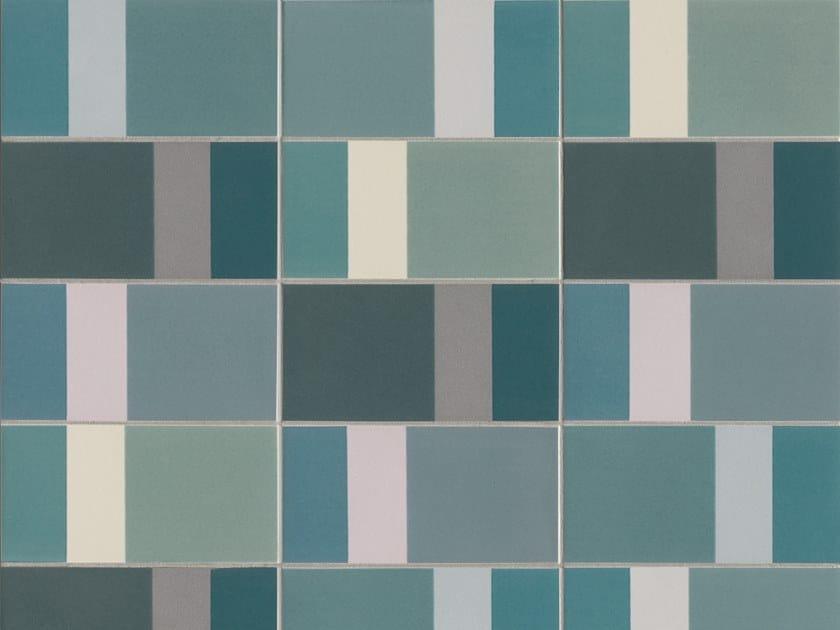 Glazed stoneware wall tiles DIARAMA SKY LIGHT by MUTINA