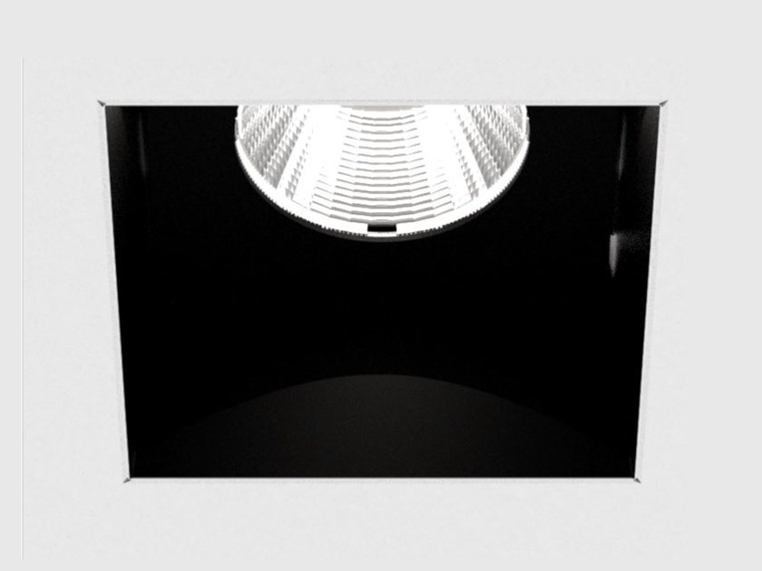 LED recessed square spotlight DICE CAVE by PROLICHT