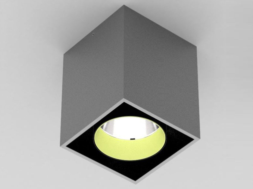 LED ceiling square spotlight DICE ON by PROLICHT
