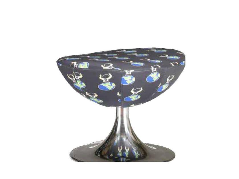 Fabric footstool DIEGO | Footstool by Mirabili