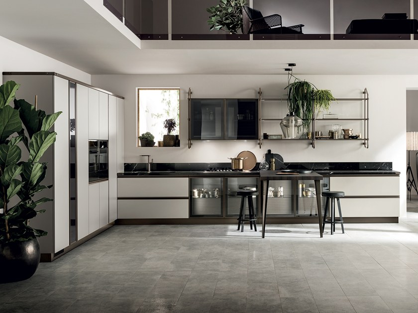 Charmant Fitted Kitchen DIESEL OPEN WORKSHOP By Scavolini