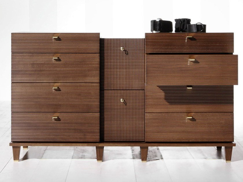Wooden chest of drawers DIMITRI | Chest of drawers by OPERA CONTEMPORARY