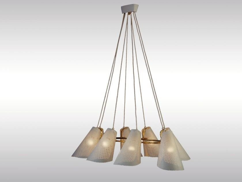 Classic style metal pendant lamp DINERS by Woka Lamps Vienna