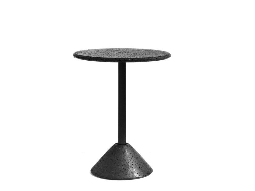 Round lava stone table DING | Table by BUZAO