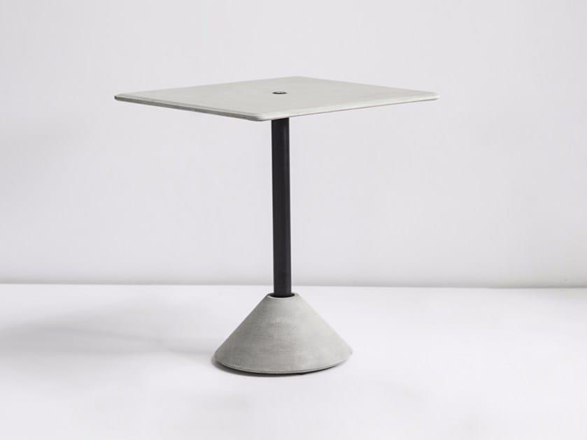 Rectangular concrete table DING | Rectangular table by Bentu Design
