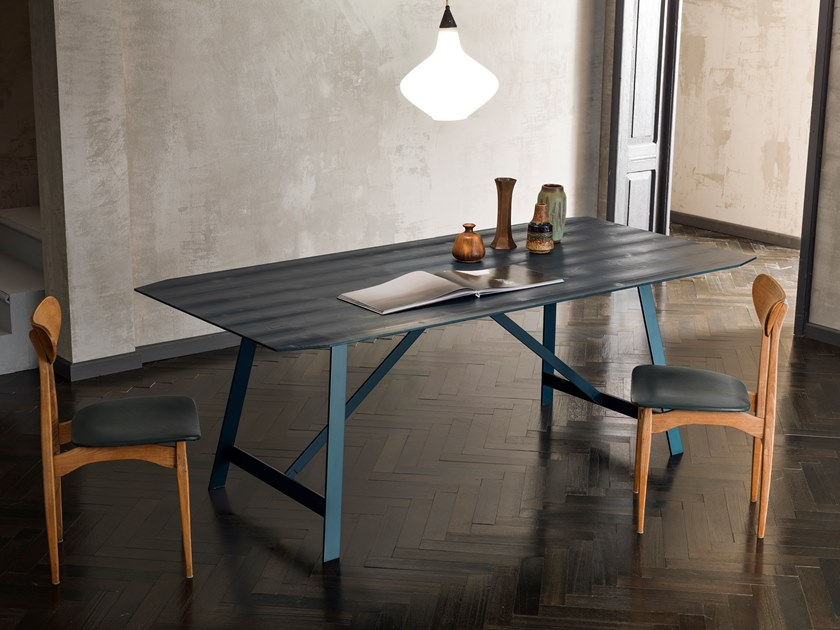 Rectangular table BONTON | Wooden table by Capo d'Opera
