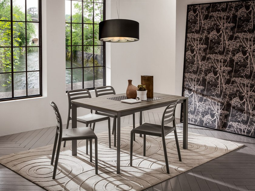 Rectangular dining table SILVA | Dining table by IDEAS Group