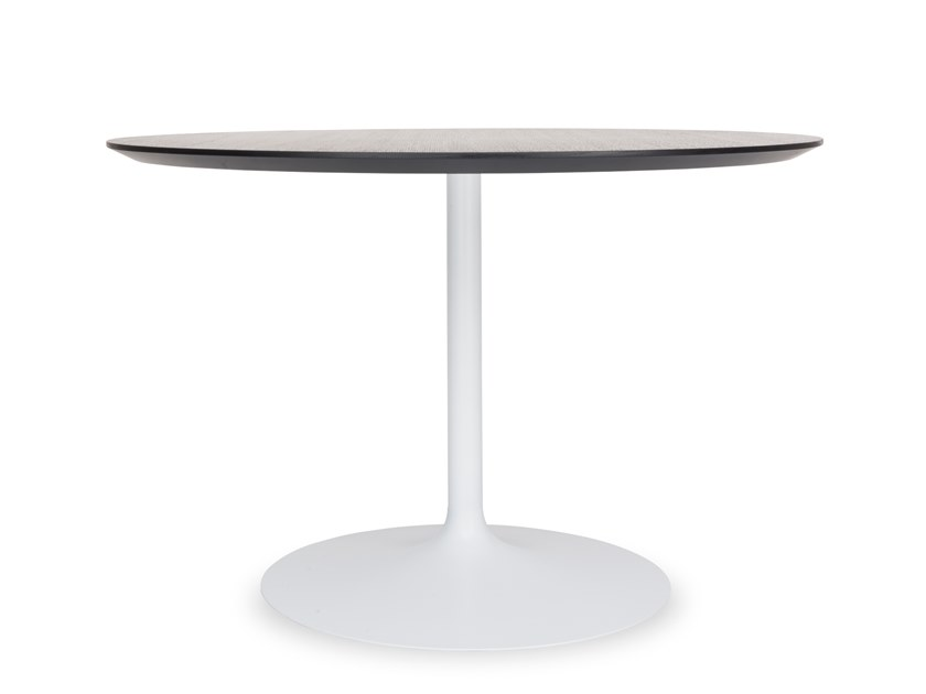 Round wooden dining table TULIP | Dining table by Riccardo Rivoli