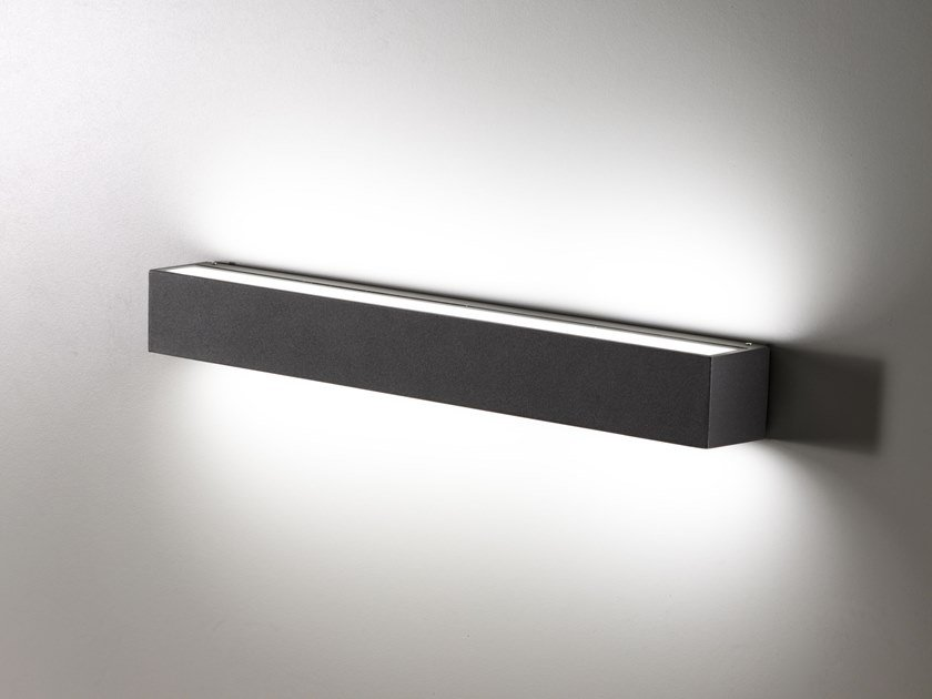 Direct Indirect Light Outdoor Wall Lamp