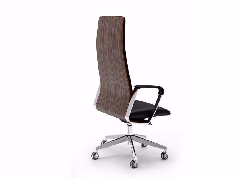 High-back executive chair DIRECTA | Executive chair by Quadrifoglio