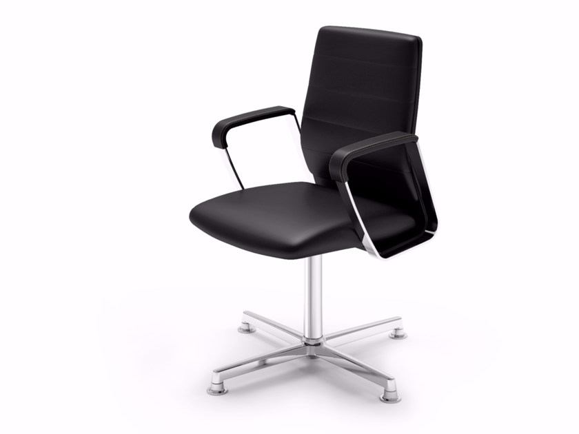 Executive chair with 4-spoke base DIRECTA | Executive chair by Quadrifoglio