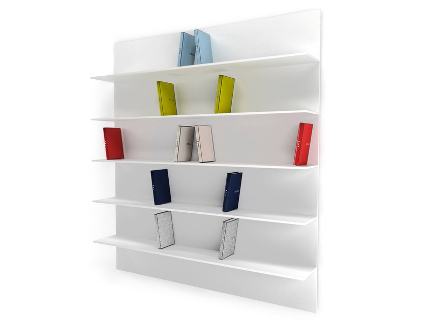 Wall-mounted bookcase DIRETTORE by moooi