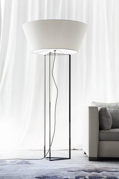 Fabric floor lamp DISCO By ERBA ITALIA design Giorgio Soressi