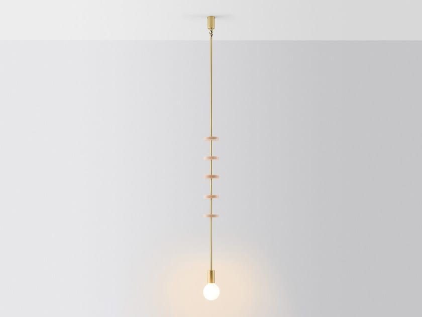 Lampada da soffitto a led discus collezione discus by volker