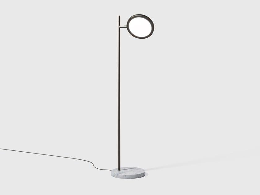 Adjustable floor lamp DISCUS | Floor lamp by Matter Made