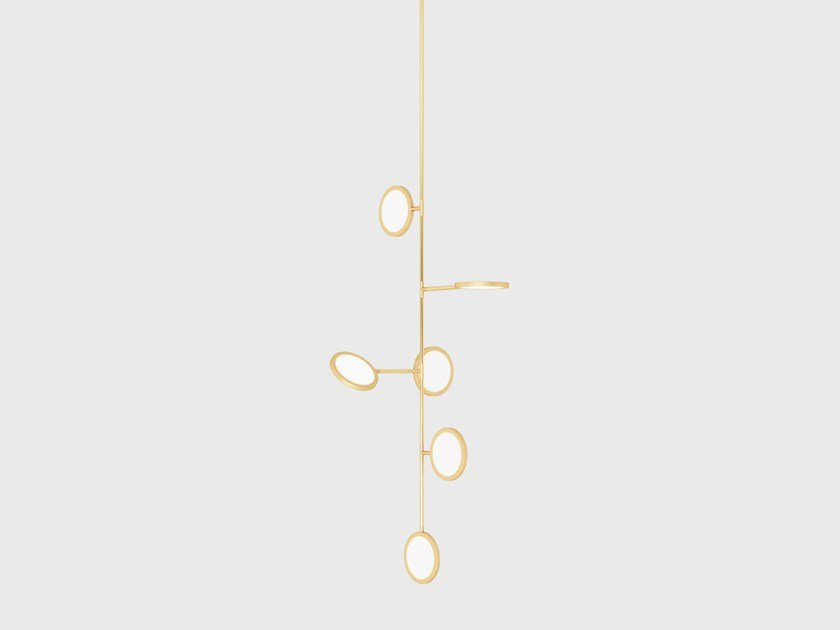 Pendant lamp DISCUS VINE 6 by Matter Made