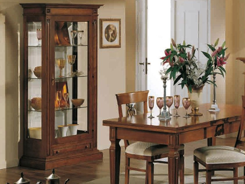 Wooden display cabinet DONATELLO   Display cabinet by Arvestyle