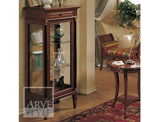 Solid wood display cabinet GALILEO | Display cabinet by Arvestyle