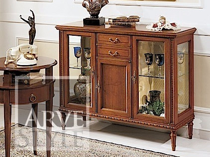 Solid wood display cabinet VIENNA | Display cabinet by Arvestyle