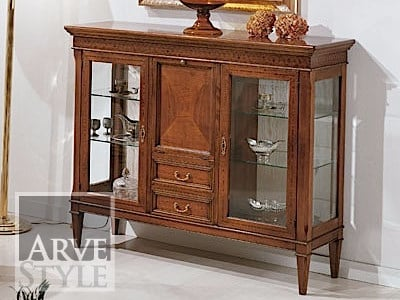 Solid wood display cabinet MARTA | Display cabinet by Arvestyle