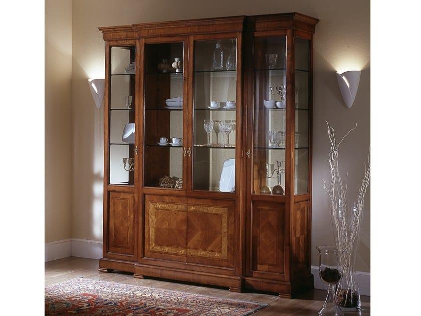 Cherry Wood Display Cabinet Ca Dolfin By Moletta