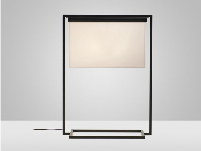 Direct light steel table lamp DITAL by Kevin Reilly Collection