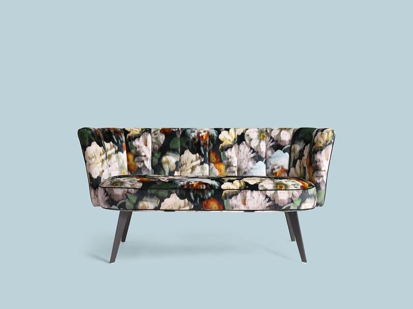 Fabric small sofa DIVA | Fabric small sofa by Borzalino