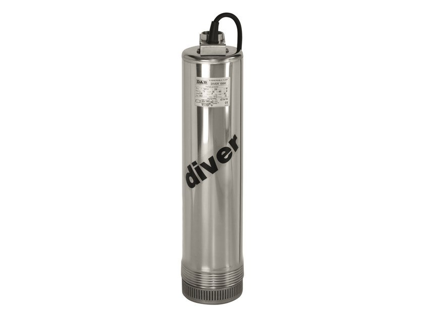 5' multistage submersible pump DIVER by Dab Pumps
