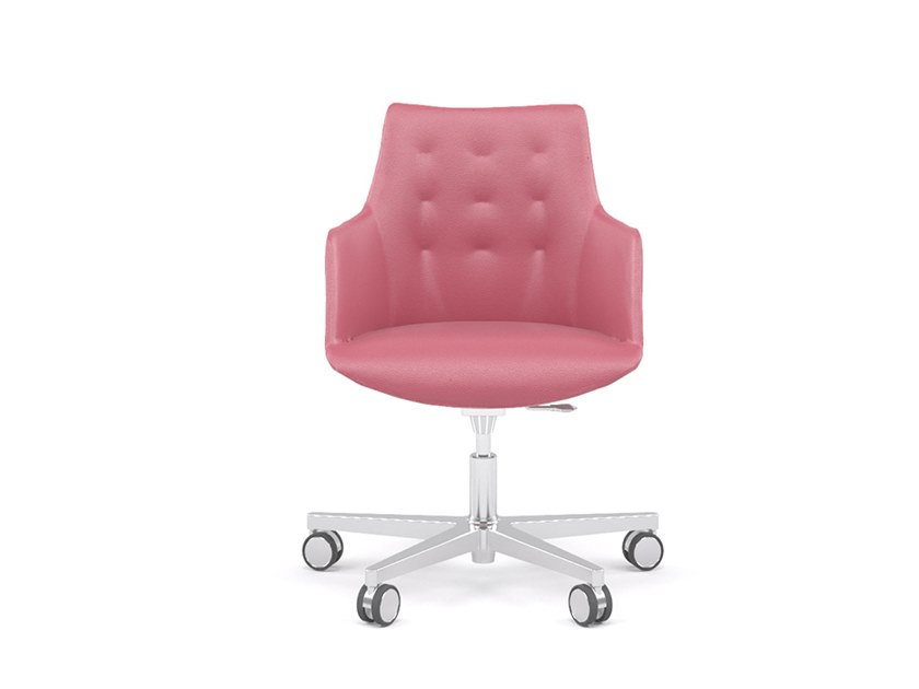 Swivel task chair with 5-Spoke base DIVINA | Task chair by ESTEL GROUP