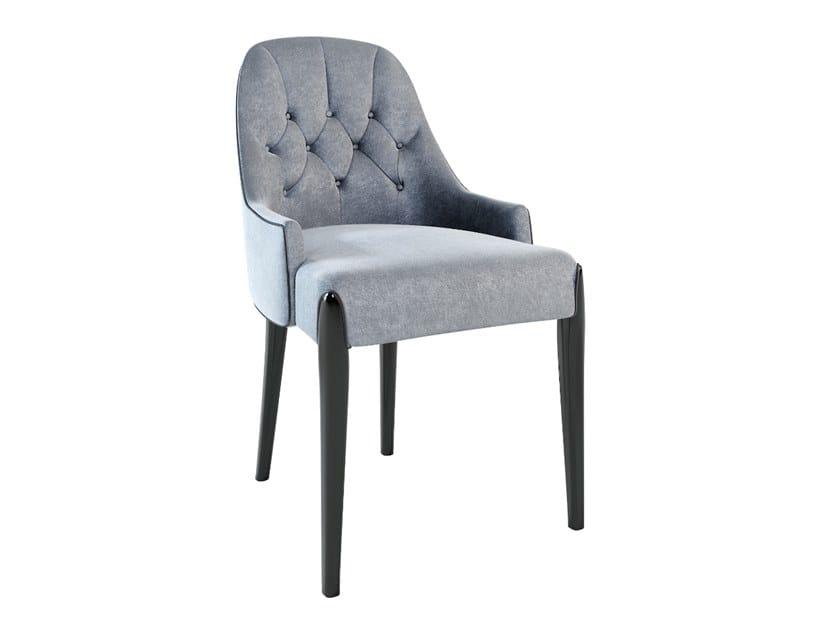 Fabric chair DIXON   Fabric chair by Jetclass