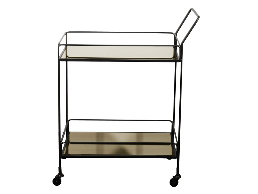 Glass drinks trolley DIXON by Notre Monde