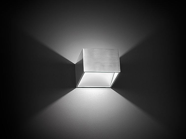 Applique a LED in alluminio DL004 by NOBILE ITALIA