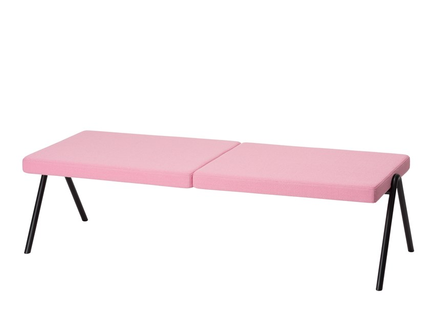 Backless fabric bench seating DL6 | Bench seating by LOEHR