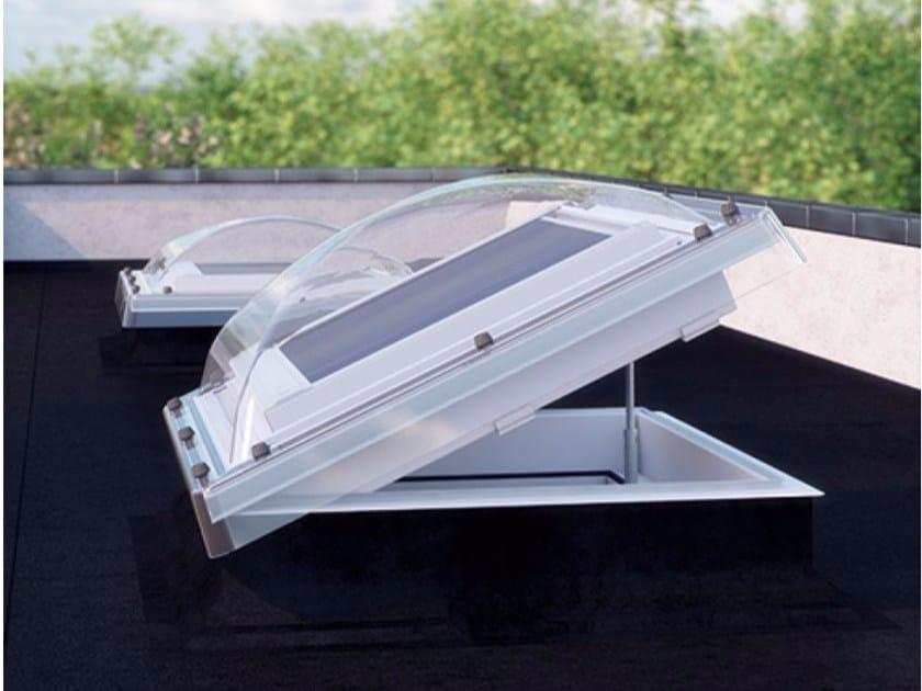 Casement PVC roof window DMC-CP2, DEC-C P2 / DEC-C U8 by FAKRO