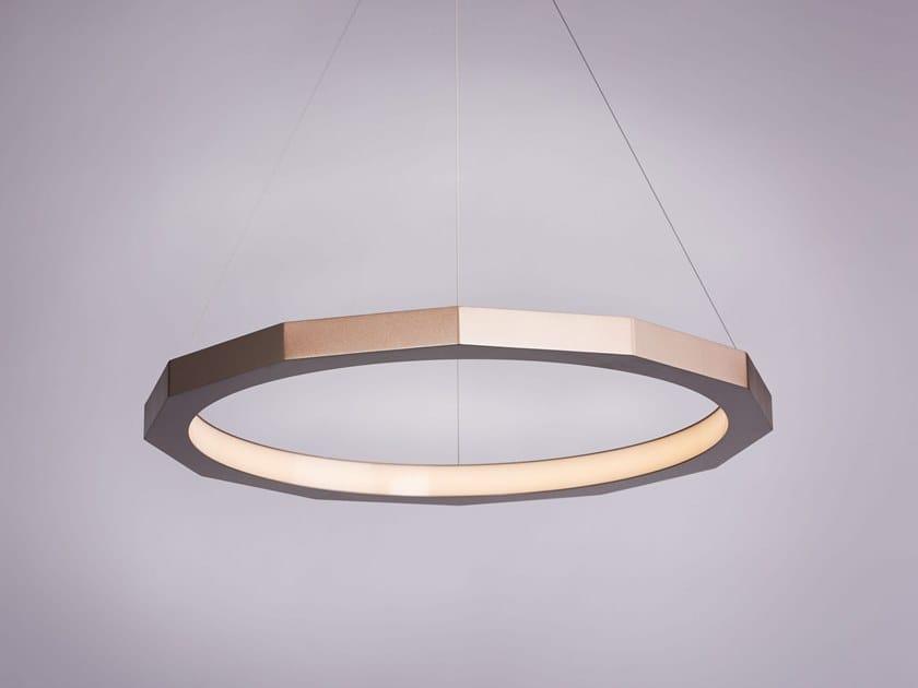 Steel pendant lamp DODECA by Karice